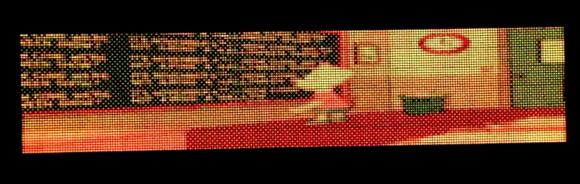 Pannello LED come schermo!