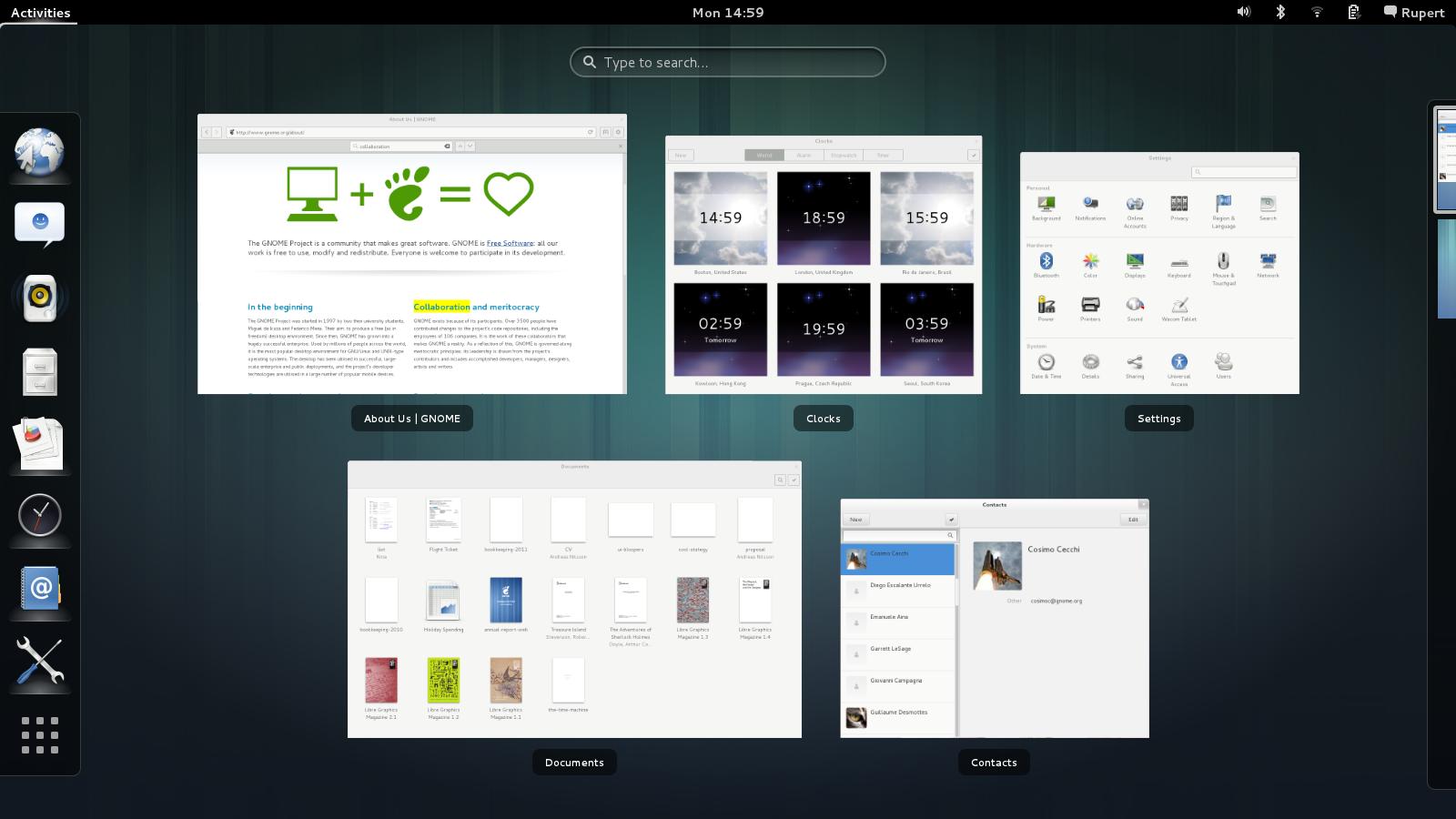 Gnome 3.8 è stato rilasciato!