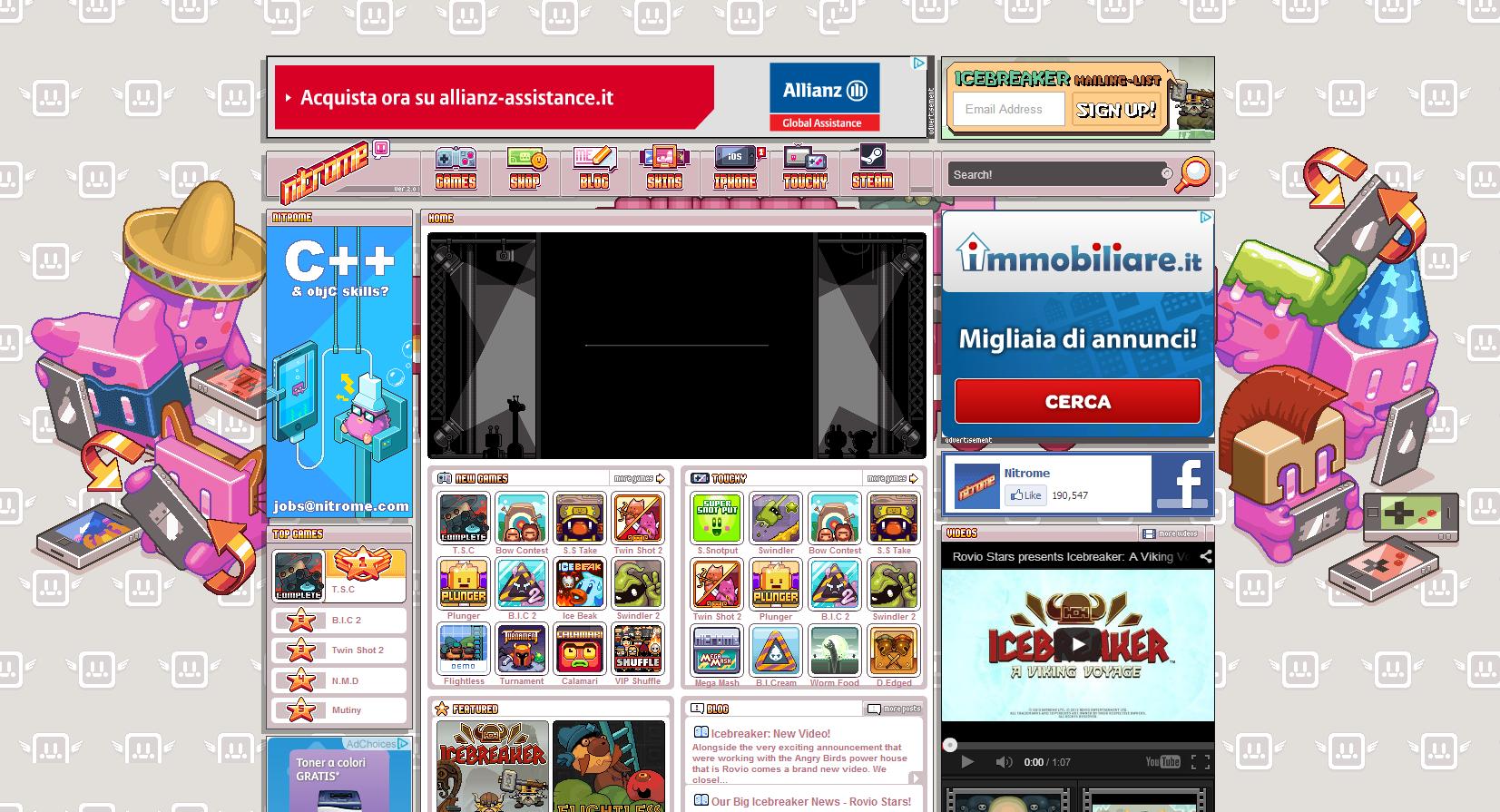 Giochi online: Nitrome!